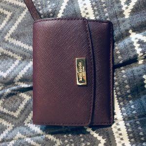 Kate spade wallet (color is maroon)